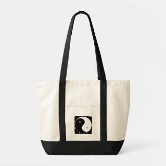 Chinese Yin Yang Symbol Tote Bag