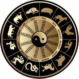 Chinese Zodiac Chart Cut Out