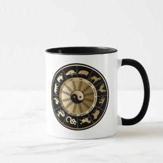 Chinese Zodiac Chart - Year of the Dragon Mug