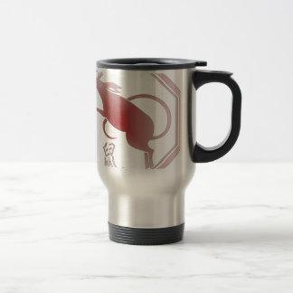 chinese zodiac rat travel mug