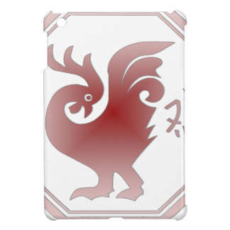 Chinese Zodiac Rooster Case For The iPad Mini