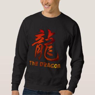 Chinese Zodiac Sign Dragon Black T-Shirt