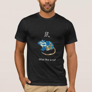 Chinese Zodiac T-shirt - Wise like a rat
