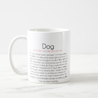 Chinese Zodiac (Year of the Dog) 2 Coffee Mug