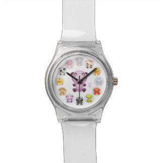 Chinese Zodiac Year of the Goat Round Wristwatch