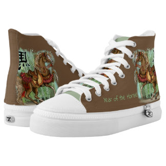Chinese Zodiac Year of the Horse High Tops