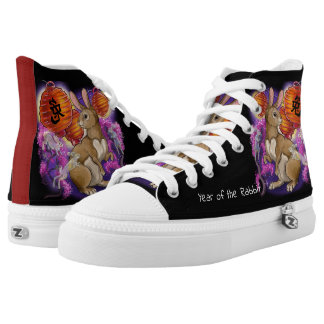 Chinese Zodiac Year of the Rabbit High Tops