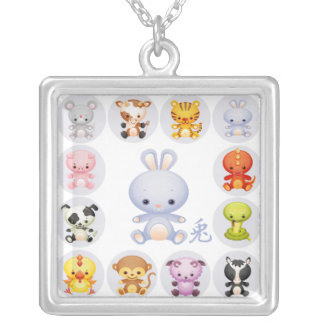 Chinese Zodiac Year of the Rabbit Necklace