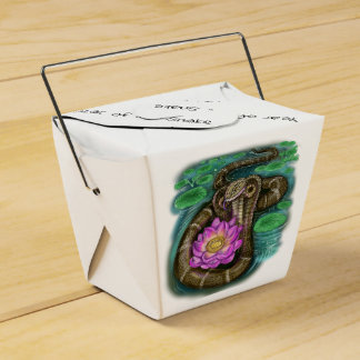 Chinese Zodiac Year of the Snake Favor Box