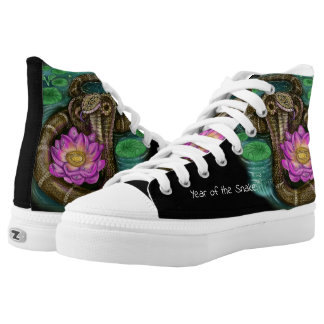 Chinese Zodiac Year of the Snake High Tops
