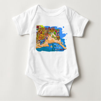 chinkue tetsure of Italy it is loose the picture Baby Bodysuit
