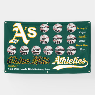 Chino Hills A's Banner