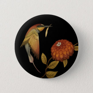 Chinoiserie Birds I - Button