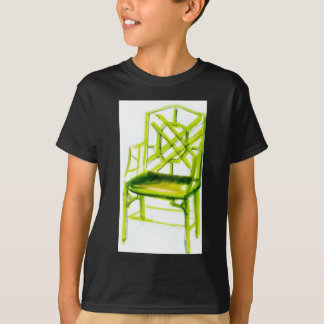 chinoiserie chair for place card T-Shirt