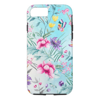 Chinoiserie Floral Pattern Case-Mate iPhone Case