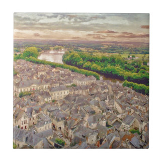 Chinon Provence France by Shawna Mac Tile