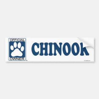 Chinook Blue Bumper Sticker