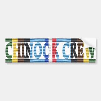 Chinook Crew, AFEM Bumper Sticker