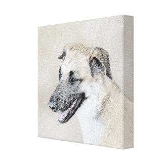Chinook (Dropped Ears) Canvas Print