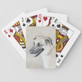 Chinook (Dropped Ears) Playing Cards