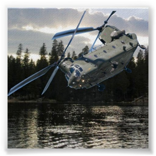 CHINOOK HELICOPTER POSTERS