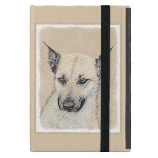 Chinook (Pointed Ears) Painting - Original Dog Art Case For iPad Mini