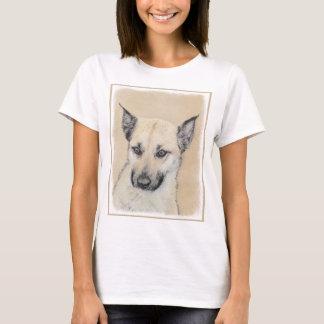 Chinook (Pointed Ears) Painting - Original Dog Art T-Shirt