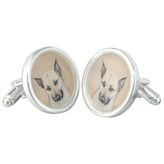Chinook Puppy (Pointed Ears) Cufflinks