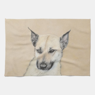 Chinook Puppy (Pointed Ears) Kitchen Towel