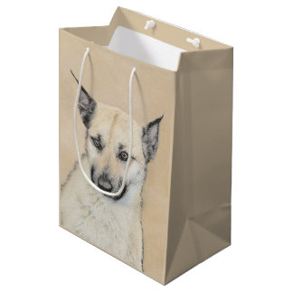 Chinook Puppy (Pointed Ears) Medium Gift Bag
