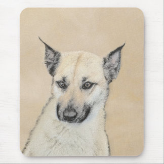 Chinook Puppy (Pointed Ears) Mouse Pad