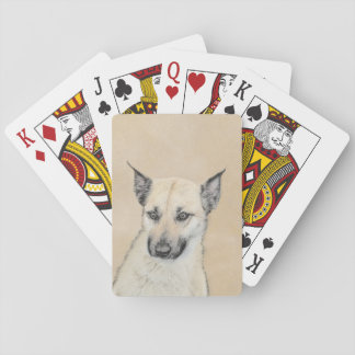 Chinook Puppy (Pointed Ears) Playing Cards