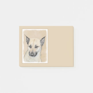 Chinook Puppy (Pointed Ears) Post-it Notes