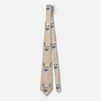 Chinook Puppy (Pointed Ears) Tie