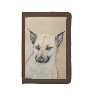 Chinook Puppy (Pointed Ears) Tri-fold Wallet