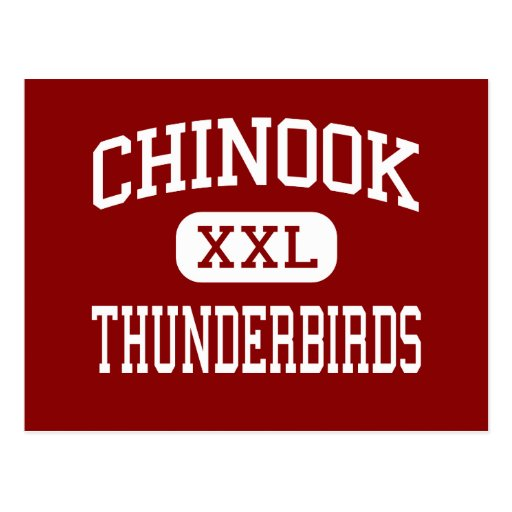 Chinook - Thunderbirds - Middle - Seattle Postcard