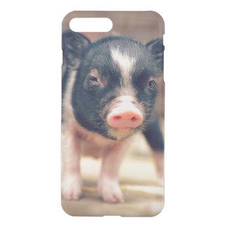 Chiot pie de porc pour des amants de porc coque iPhone 7 plus