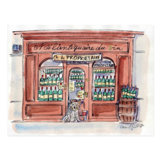 Chiot sur la rue Malar, Paris Cartes Postales