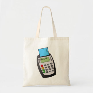 Chip and Pin Machine Tote Bag