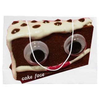 Chip Cake Face Gift Bag