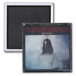 "Chip Vinjinz - ""The Greatest Grave Filler"" Album C Magnet"