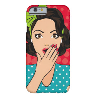 Chipkooo Fashion Girl Barely There iPhone 6 Case