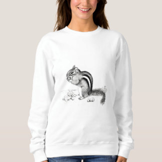 Chipmunk and Acorns Sweatshirt