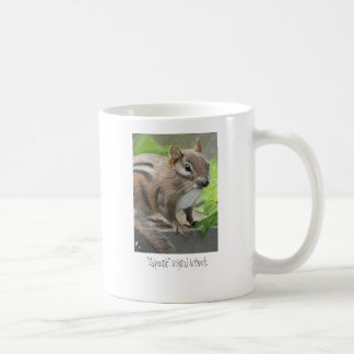 Chipmunk Artwork Coffee Mug