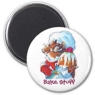 Chipmunk Dessert Chef Magnet