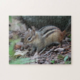 Chipmunk foraging jigsaw puzzle
