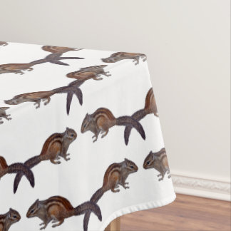 Chipmunk Frenzy Tablecloth (choose colour)