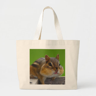 Chipmunk Large Tote Bag