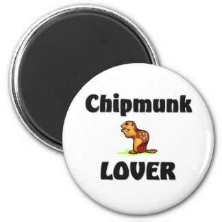 Chipmunk Lover Magnet