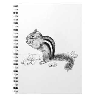 Chipmunk Notebook